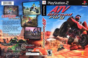 ATV Offroad Fury box art for PlayStation 2