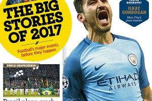 Cover art for World Soccer magazine