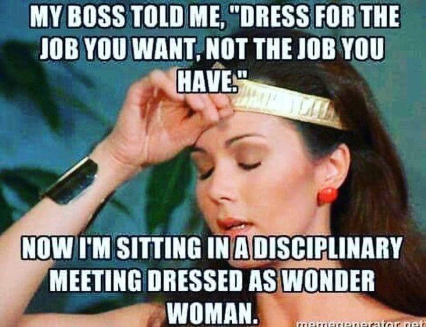 Wonder woman meme