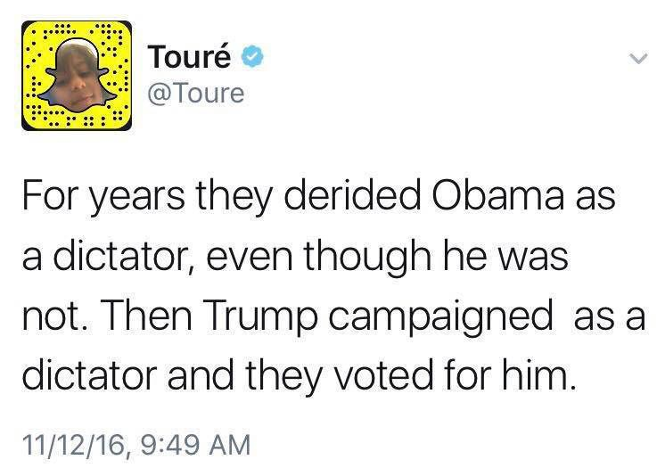 Dictator - Trump meme