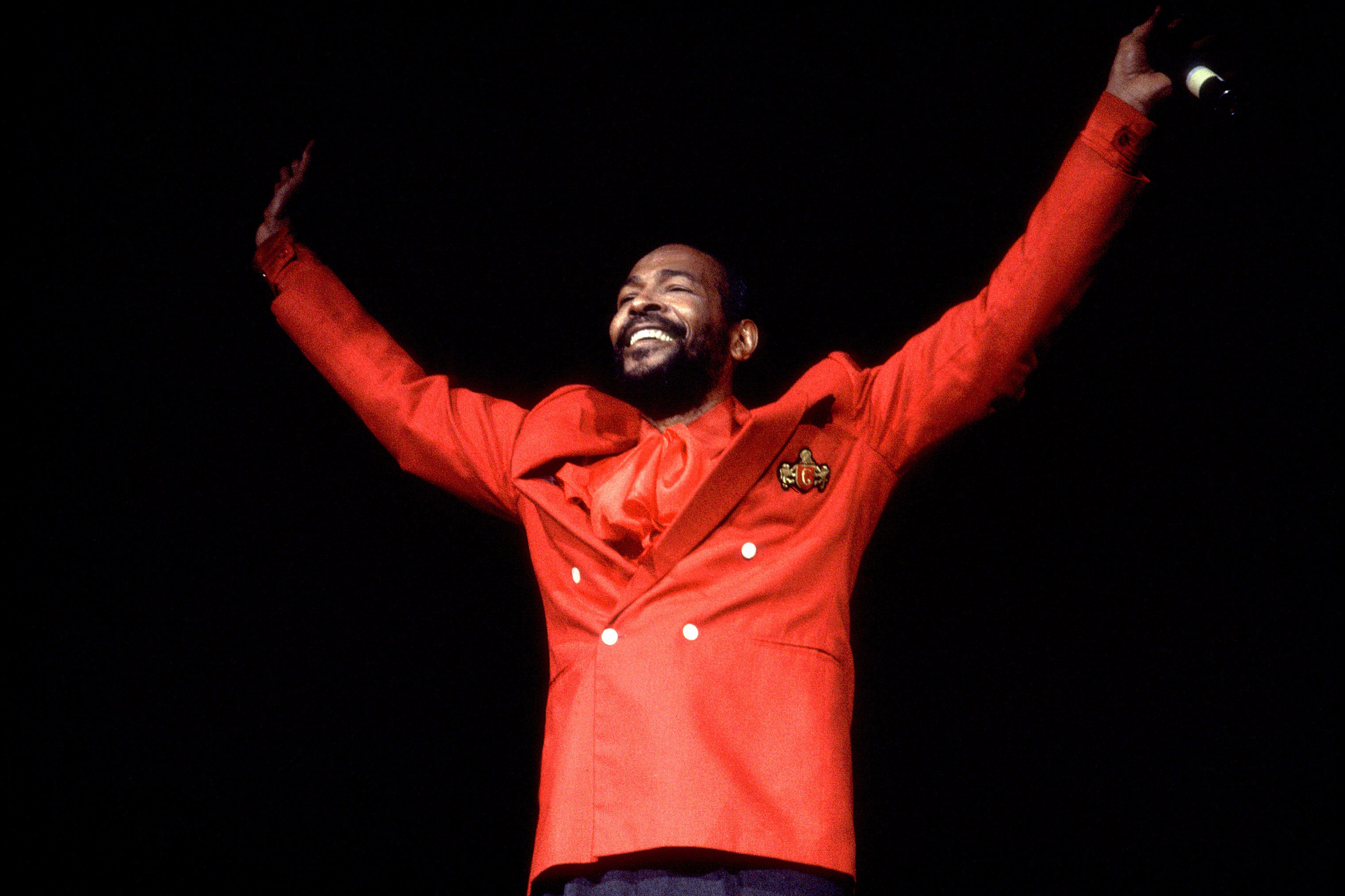 Marvin Gaye At The Holiday Star