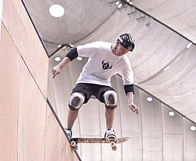 Dropping In on Vert Ramps - Pierre Luc Gagnon