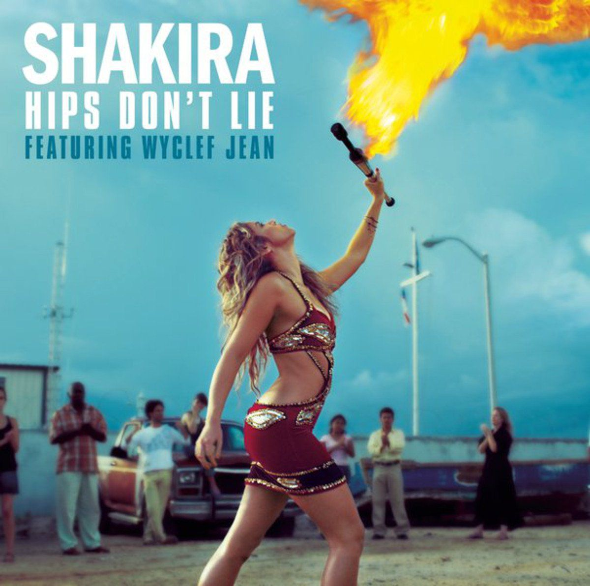 Shakira featuring Wyclef Jean - Hips Don't Lie
