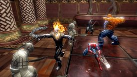Marvel Ultimate Alliance with Spidey, The Thing, Ghost Rider and more