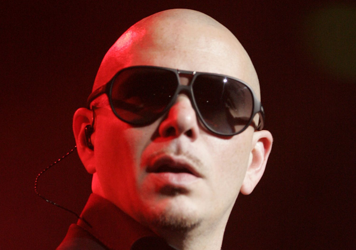 Pitbull at the Planet Pit World Tour in Sydney, Australia In 2012.