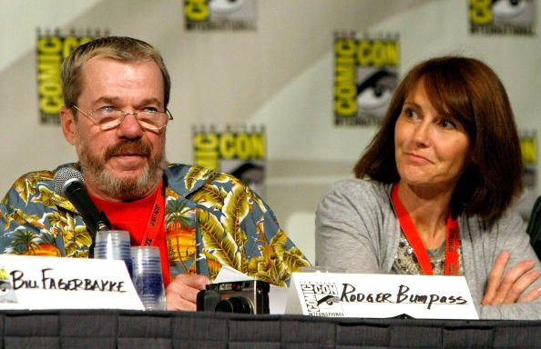Rodger Bumpass and Jill Talley