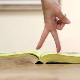 Image of a phone book.