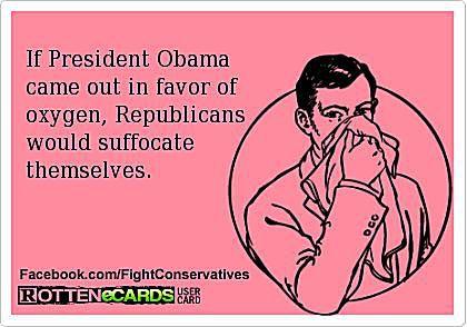 Obama in Favor of Oxygen