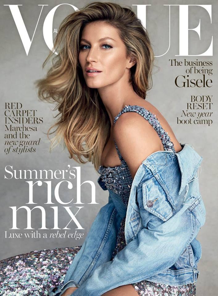 Gisele Bundchen Vogue