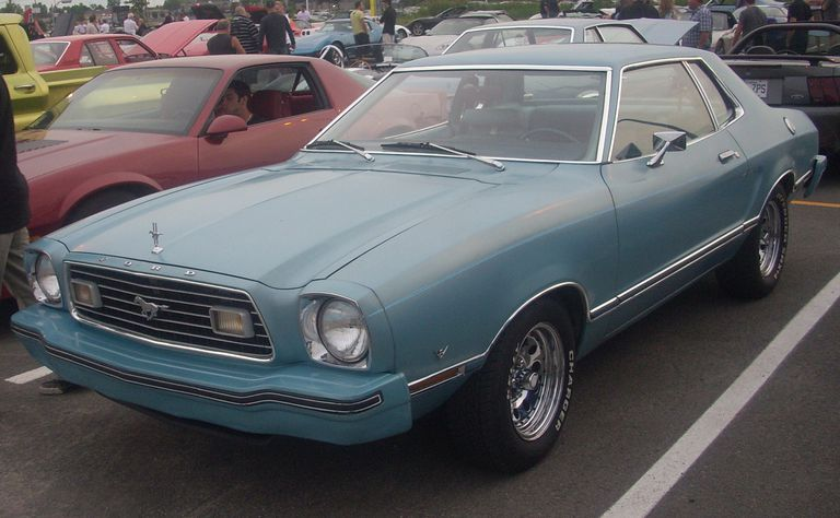 Profile of the 1974 Ford Mustang II