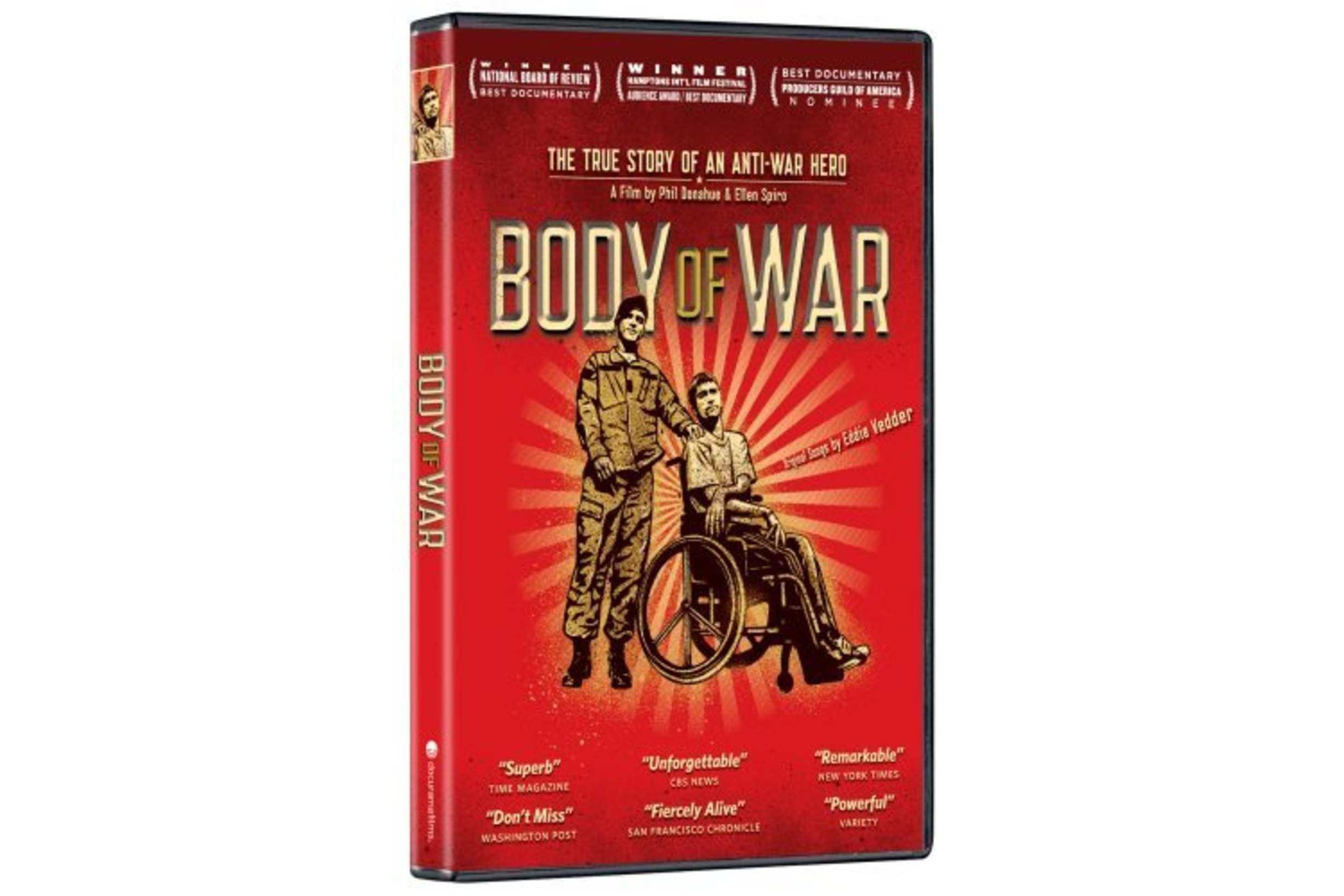 Body of War DVD
