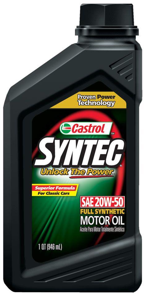 Castrol Syntec 20W-50