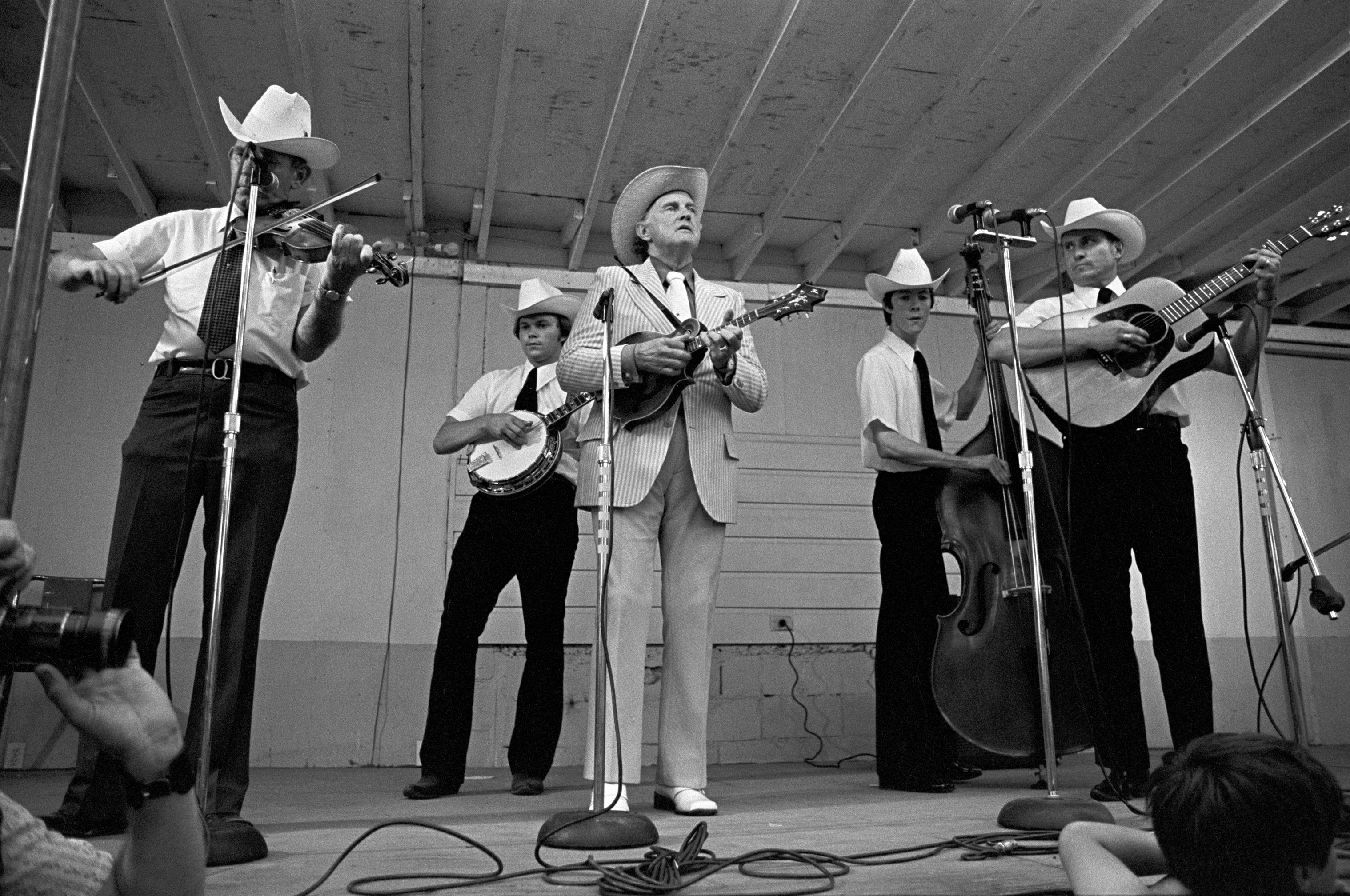 Bill Monroe and the Blue Grass Boys