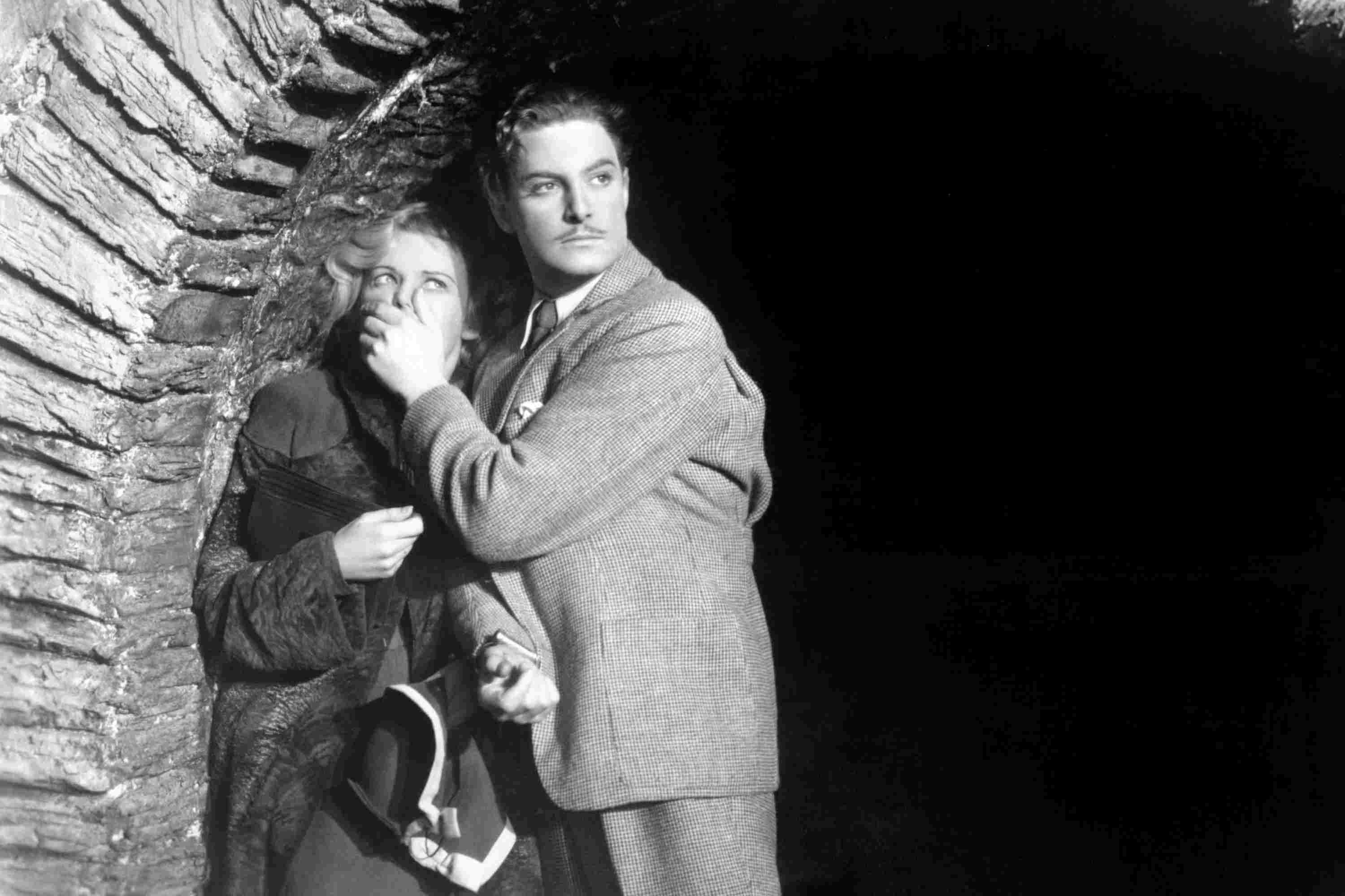 """A scene from """"The 39 Steps"""" by Alfred Hitchcock"""