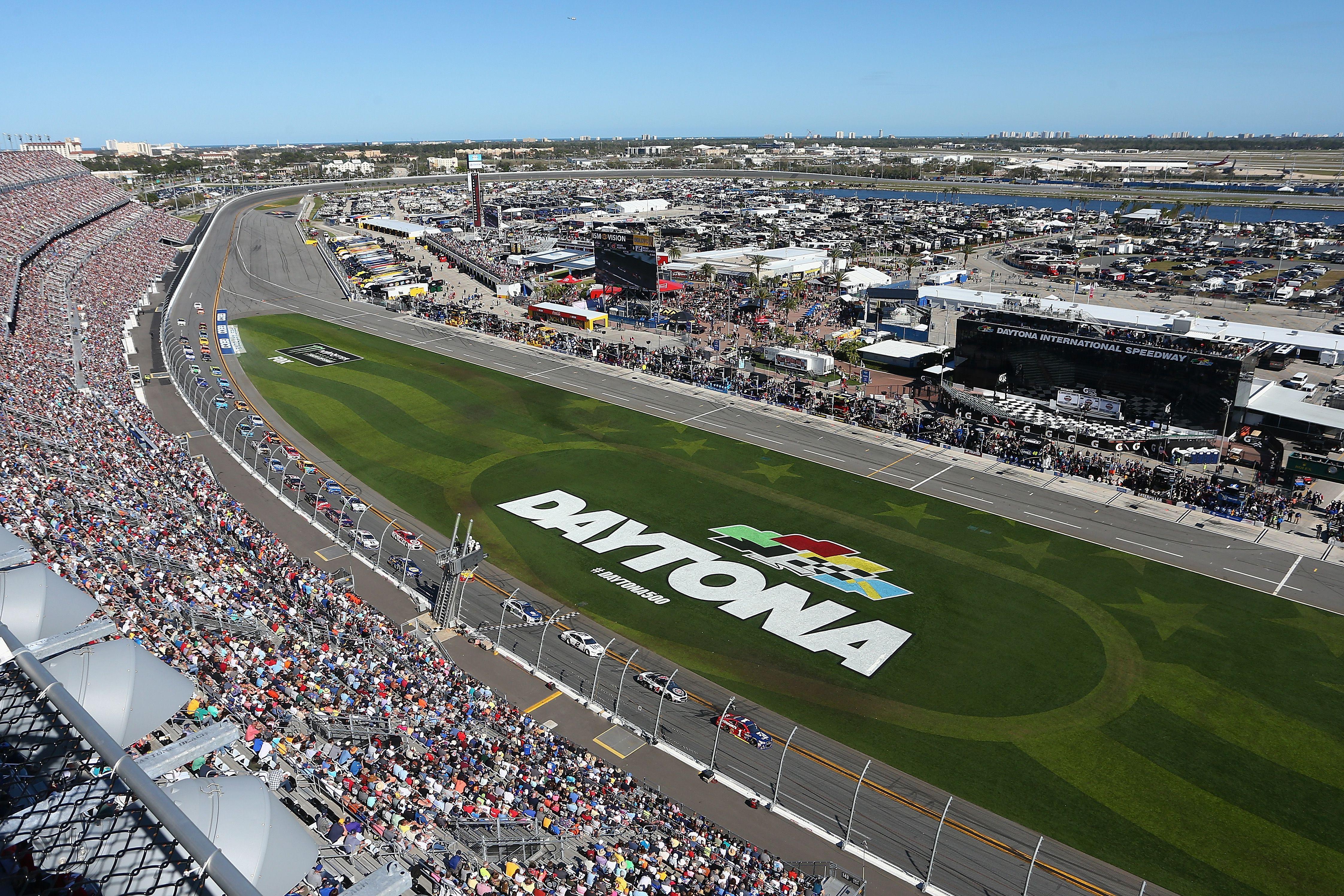Daytona International Speedway from above