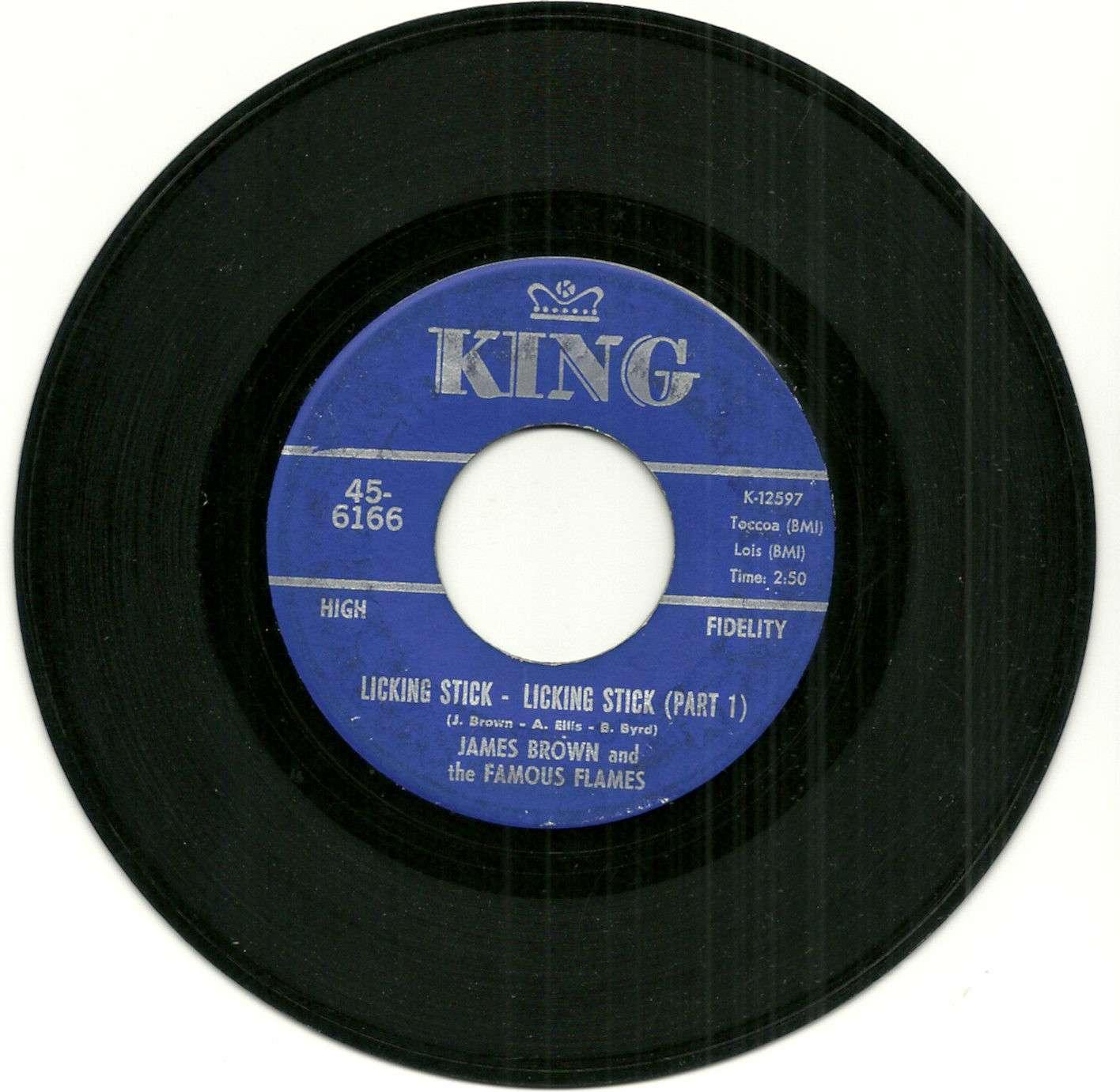 James Brown - Licking Stick, Licking Stick, Part 1