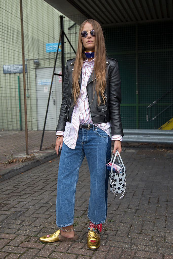 bc1993562b8 Casual Chic Weekend Outfit. Street style jeans ...
