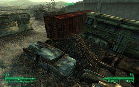 Fallout 3 wreckage yard