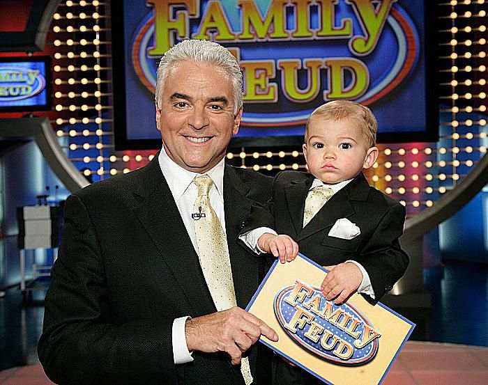 Family Feud host John O'Hurley and his Son