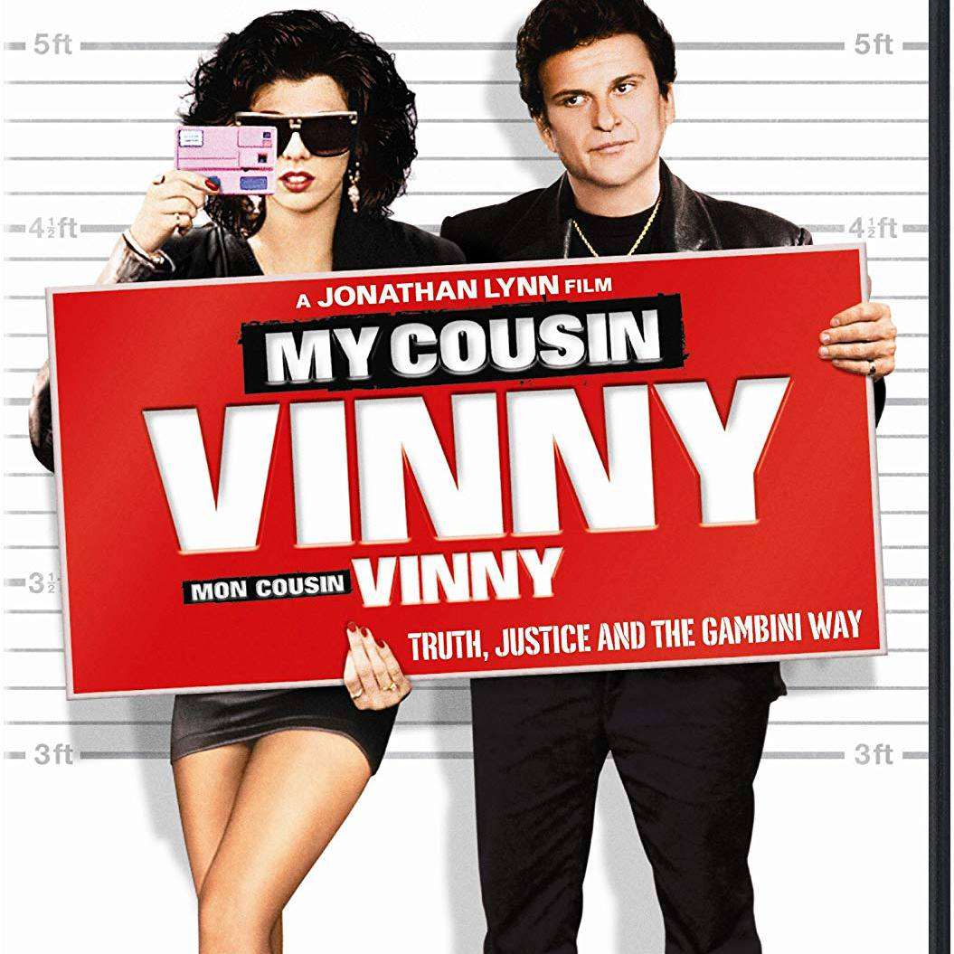 """""""My Cousin Vinny"""" DVD cover."""