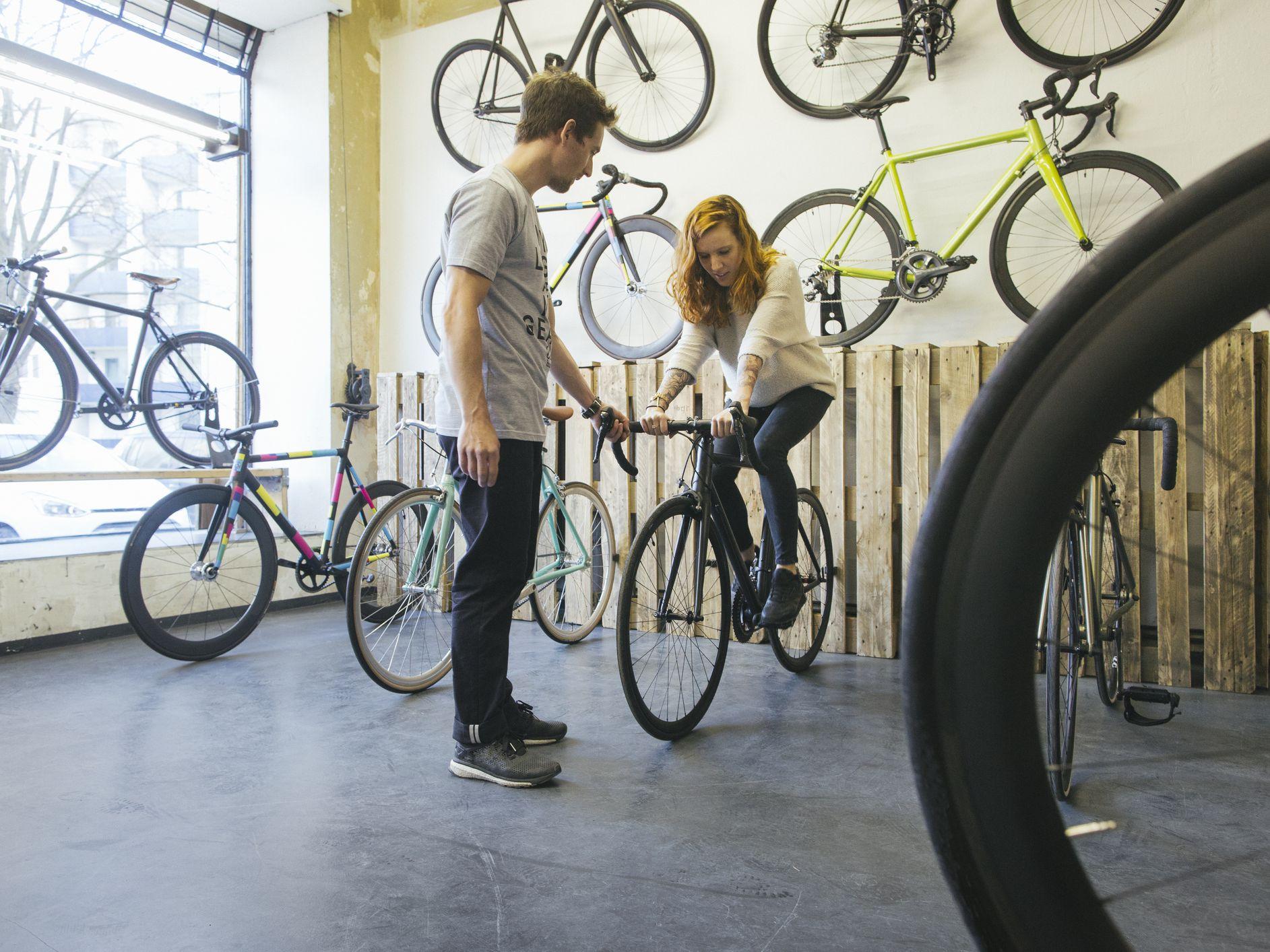 Bicycle Seat Tube Gauge Measuring Bike Cycle Seat Post Measurement Sizing Tool