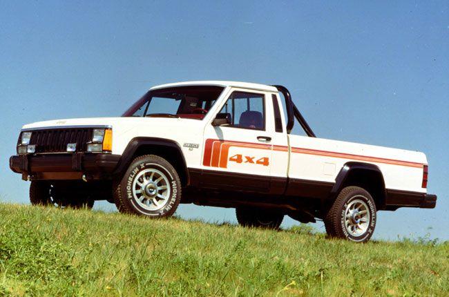 1986 Jeep Comanche Truck