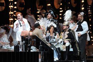 The English National Opera's Production of Giuseppe Verdi's 'La Traviata'
