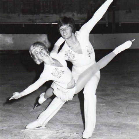 Erika Susman and Colin Tayforth - British Pair Skating Champions and 1976 Olympic Competitors
