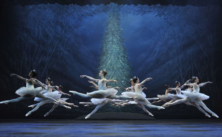 English National Ballet Perform 'The Nutcracker' At The London Coliseum
