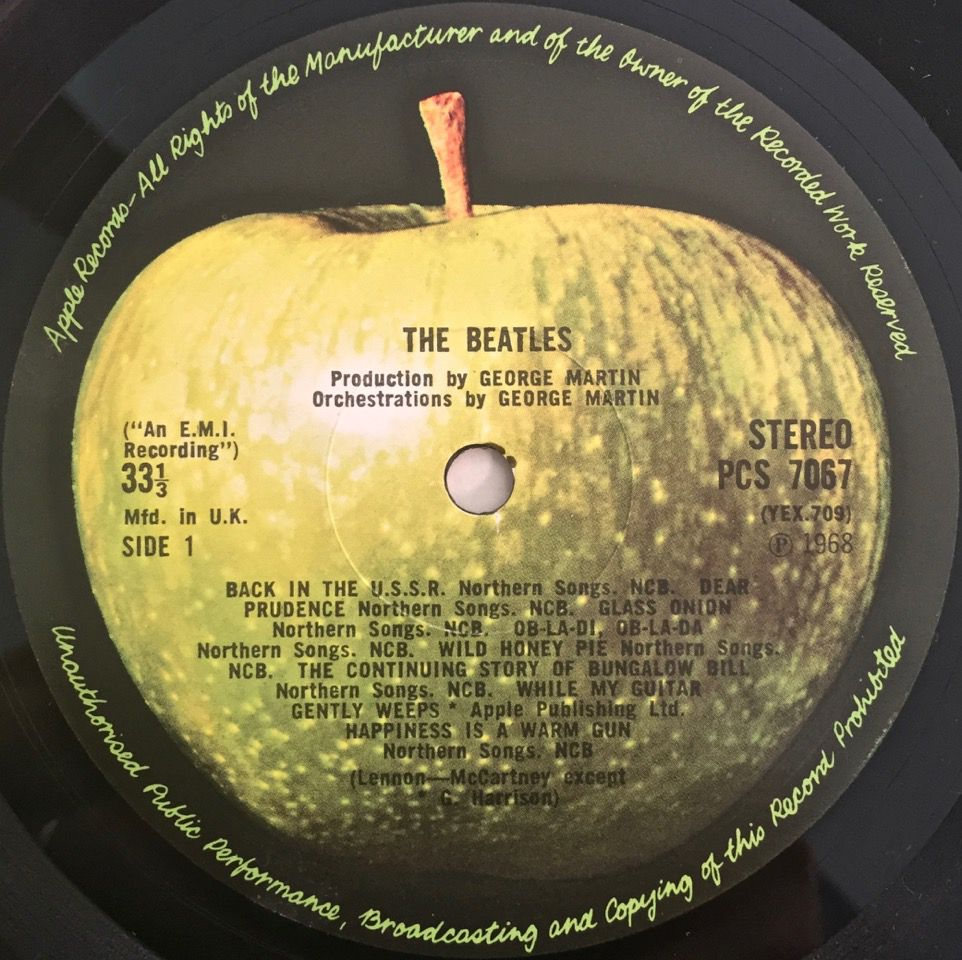 Apple records label uk
