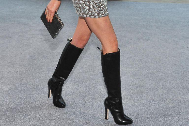 60a881f5b9a What Women Should Wear With Tall Boots