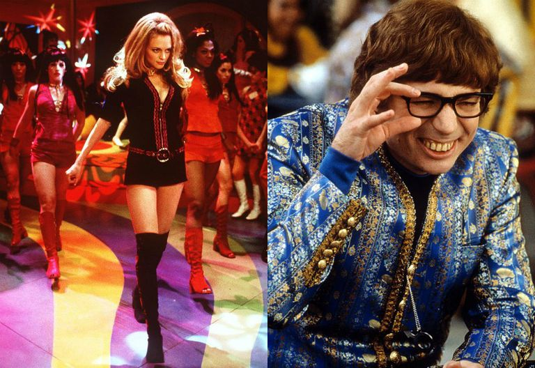 Heather Graham and Mike Myers in Austin Powers: The Spy Who Shagged Me