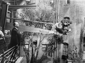 1954-Director Alfred Hitchcock