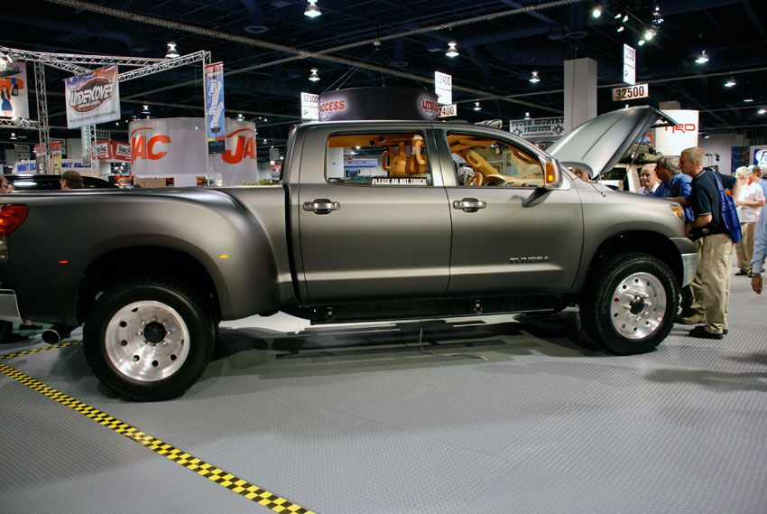 Toyota Concept Truck Diesel >> Toyota Tundra Diesel Dually Project Truck