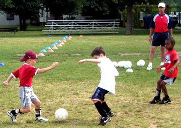 Sports and fitness programs are offered to all youth 3-18 years old