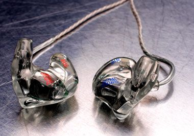 A set of in-ear monitors
