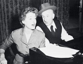 Bette Davis Singing with Jimmy Durante