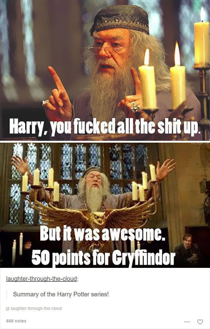 Dumbledore meme