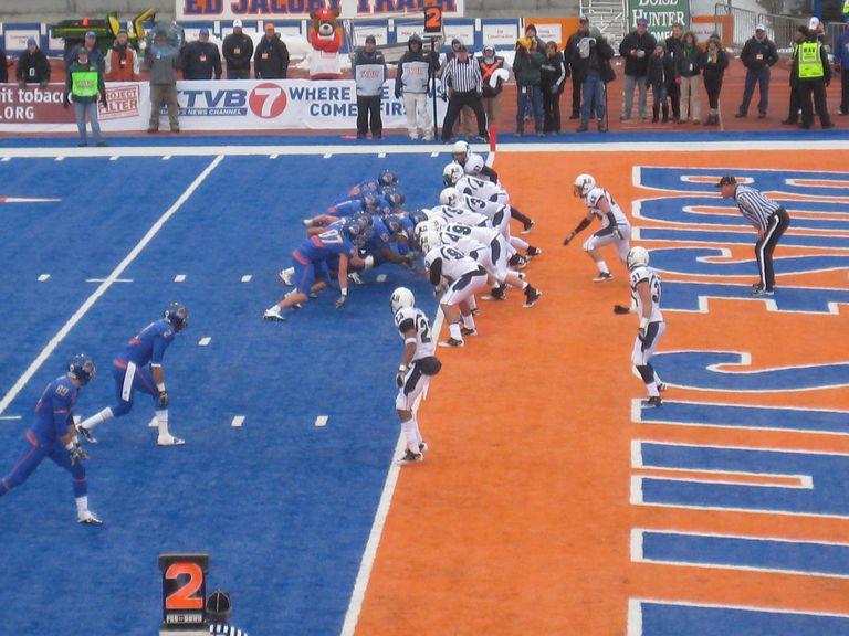 Boise State touchdown vs Utah State