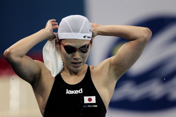 Japanese Mesh Fabric Swim Cap