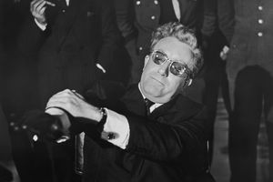 English actor Peter Sellers in the title role of 'Dr. Strangelove'