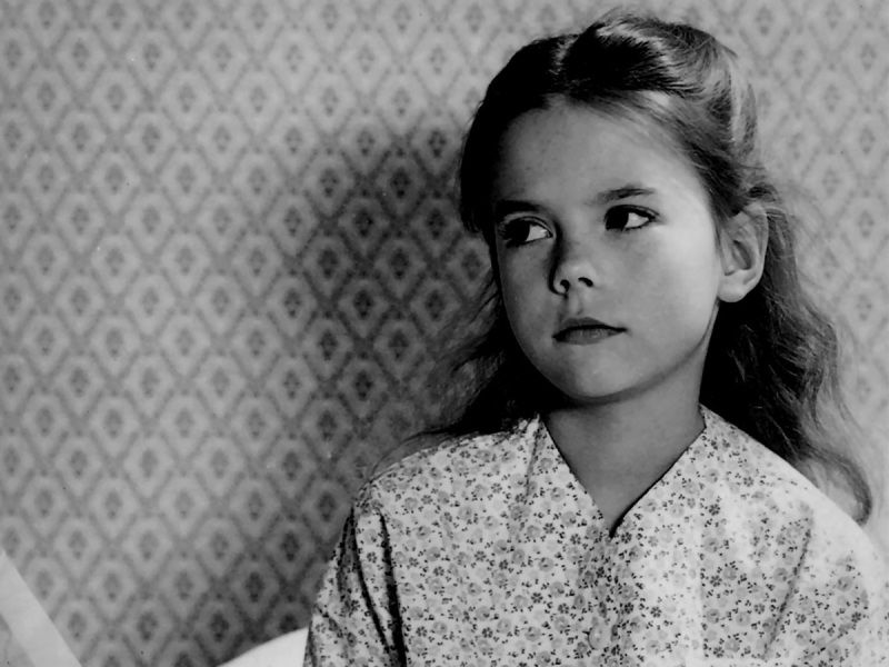 """A young Natalie Wood in """"Miracle on 34th Street"""""""