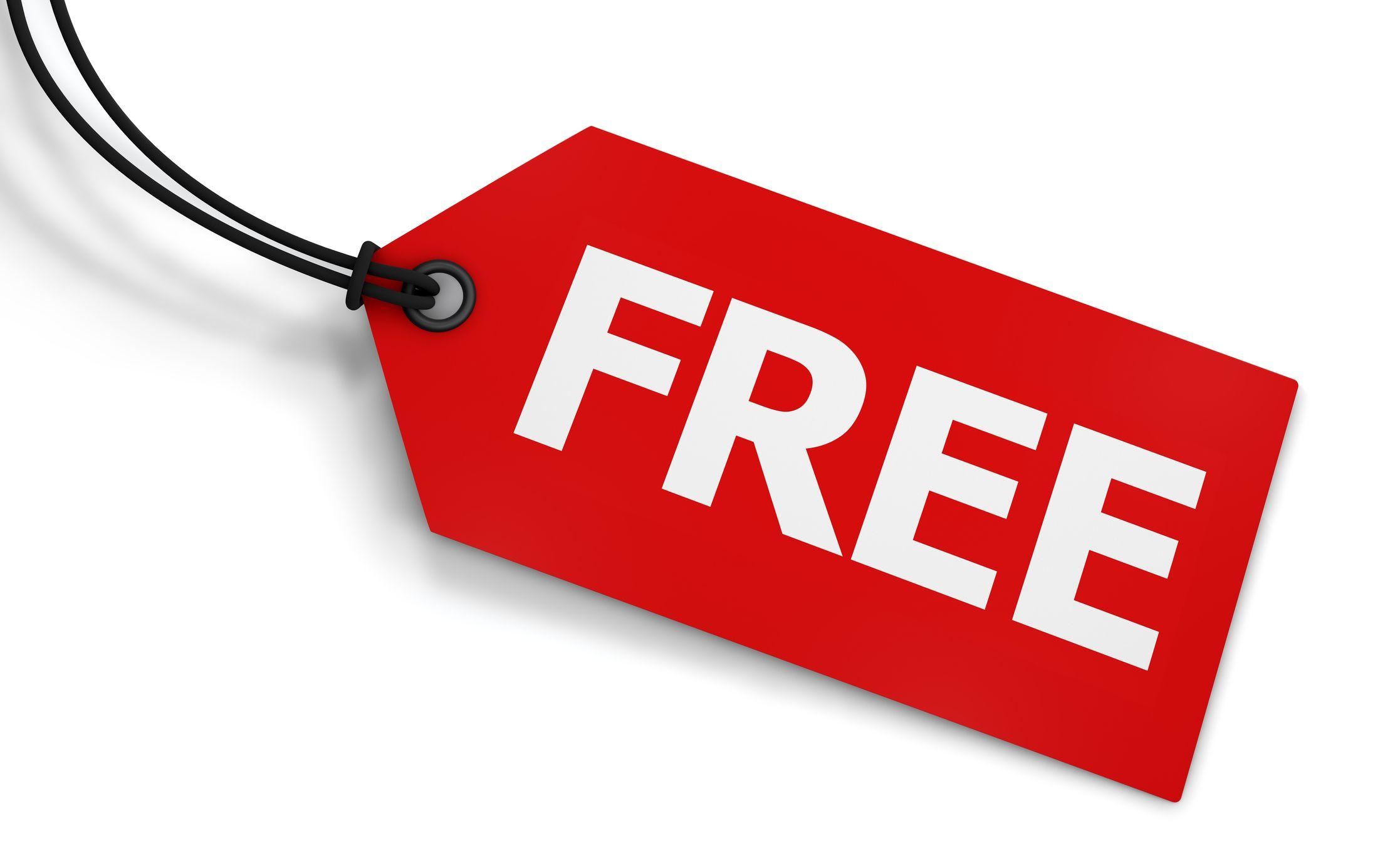 Free Price Tag
