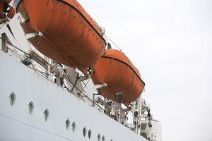 Lifeboats on Cruise Ship