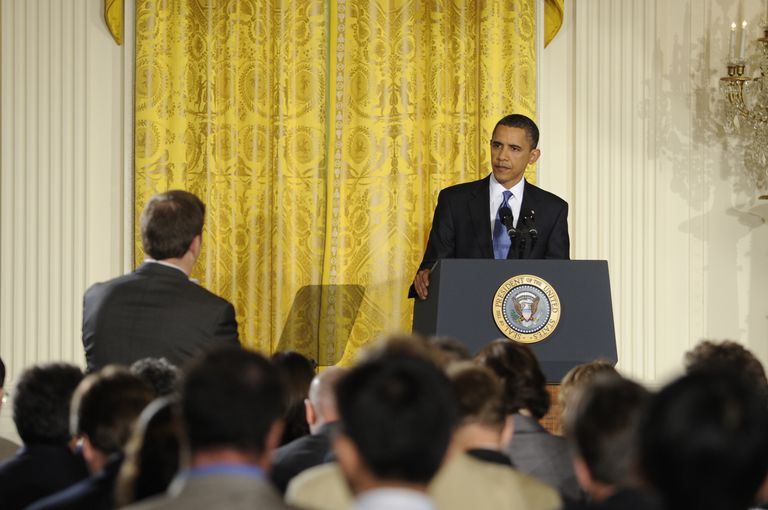 President Obama holding press conference