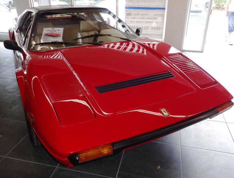 1983 Ferrari 308 GTS in Rosso Corsa