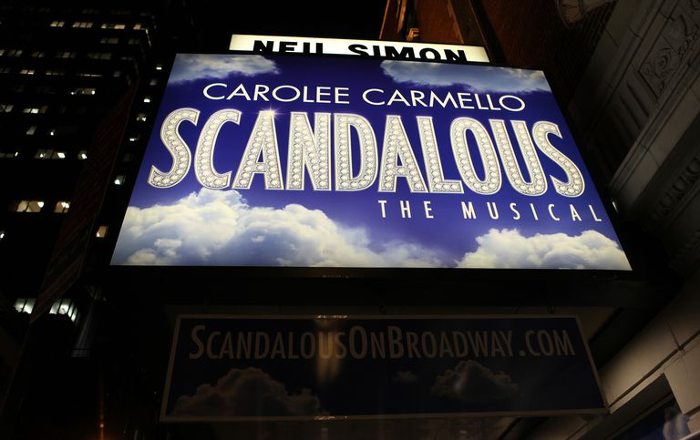USA: 'Scandalous The Musical' Arrivals