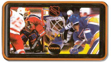 Crayola NHL Tin