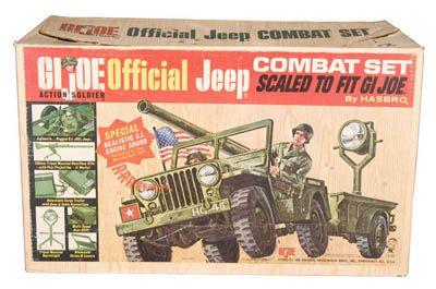 G I Joe jeep