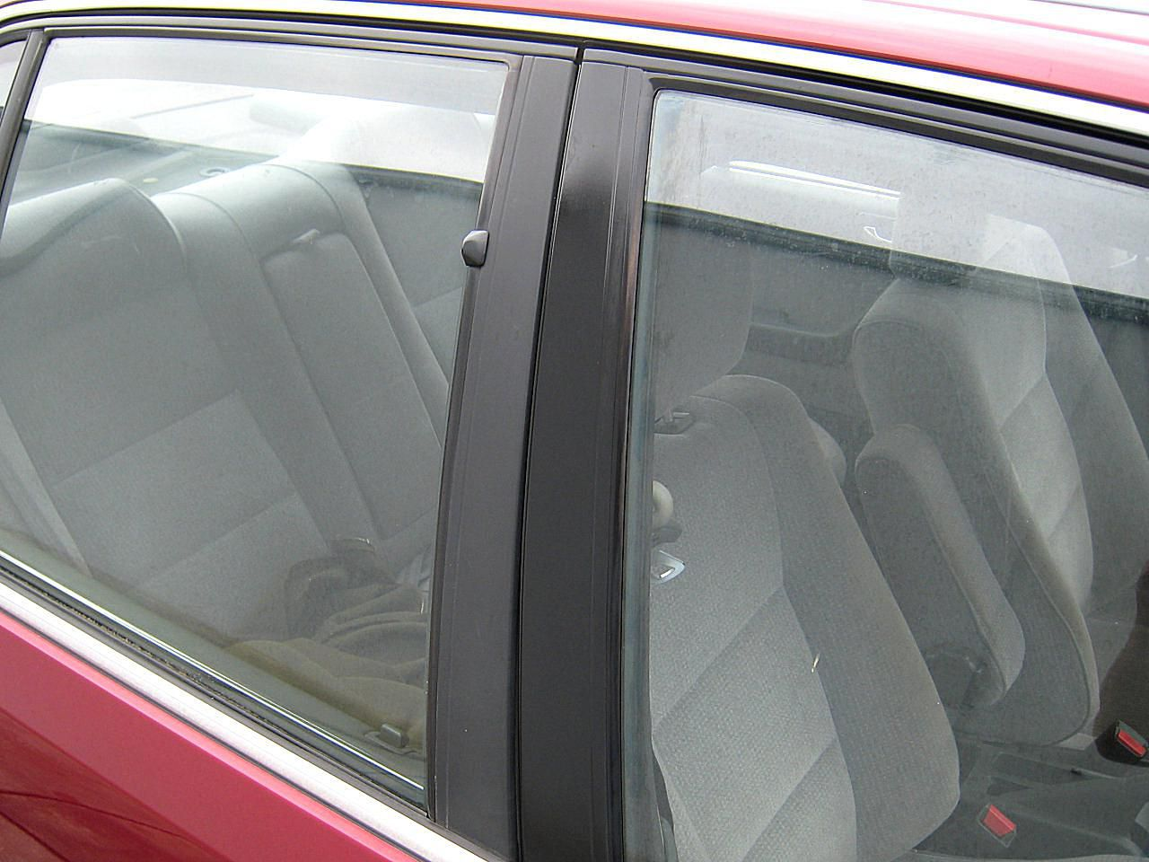 How to detail a car - treated black trim